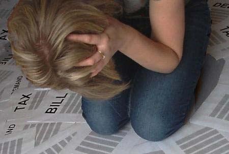 mulher desesperda