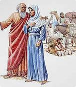A mãe das mulheres cristãs casadas